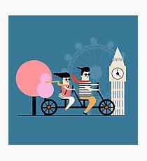 London Bike Ride Photographic Print