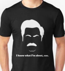 Ron - White Unisex T-Shirt