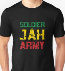 Soldier of Jah Army Unisex T-Shirt