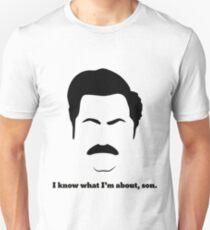 Ron - Black Unisex T-Shirt