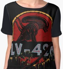 LV-426 Women's Chiffon Top