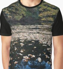 mill pond, crathes Graphic T-Shirt