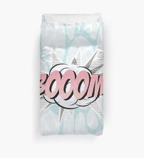 Water comics pastel boom Duvet Cover