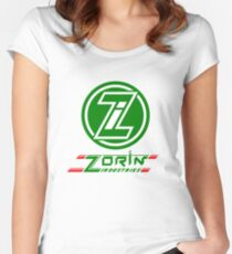 Zorin Industries : Inspired by James Bond - A View To A Kill Women's Fitted Scoop T-Shirt