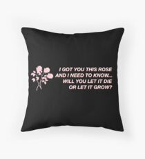 Roses Shawn Mendes Throw Pillow