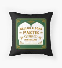 Belloq & Sons : Inspired by Indian Jones and The Raiders of the Lost Ark Throw Pillow