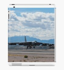 A B-52 Stratofortress takes off from Nellis Air Force Base. iPad Case/Skin