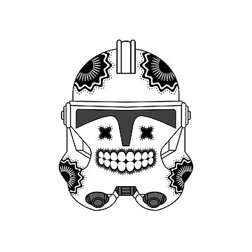 SugarSkull Trooper by Soronelite
