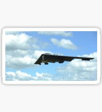A B-2 Spirit prepares for landing. Sticker