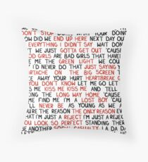 5 Seconds of Summer Throw Pillow