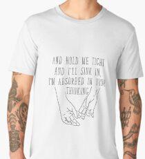 Hands hold tight Men's Premium T-Shirt