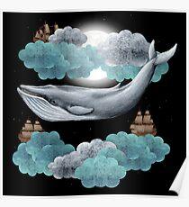 Oceanic Sky  Poster