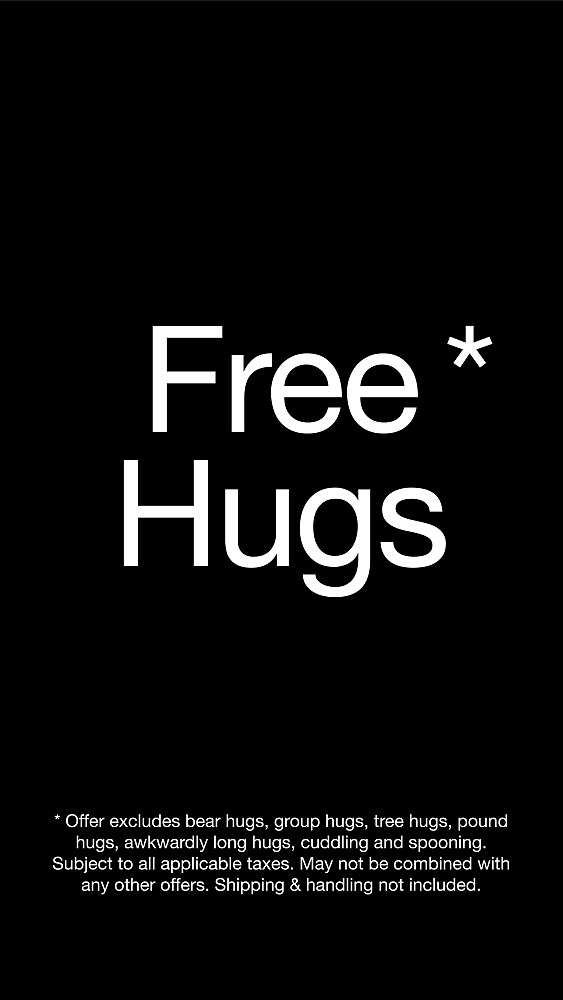 Free Hugs* by Richard Rabassa