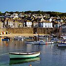 SLEEPY MOUSEHOLE MORNING, CORNWALL by rodsfotos