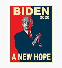 Biden 2020 A New Hope Photographic Print