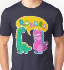 Cute dinosaur illustration. Roarrr! Unisex T-Shirt