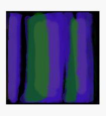 vertical blur 3 Photographic Print