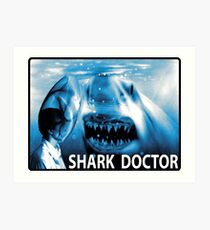 SHARK DOCTOR Art Print
