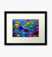 Everyone in the Pool Framed Print