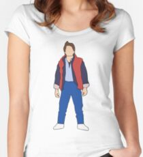 Marty McFly Women's Fitted Scoop T-Shirt