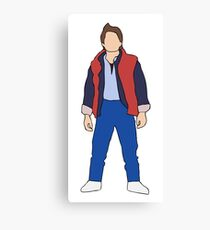 Marty McFly Canvas Print