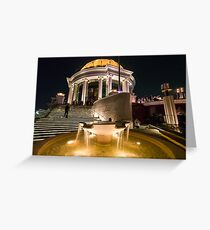 Sky Bar, Lebua State Tower, Bangkok, Thailand Greeting Card