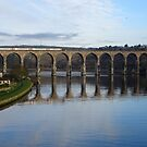 The Royal Border Bridge of Berwick-upon-Tweed by trish725