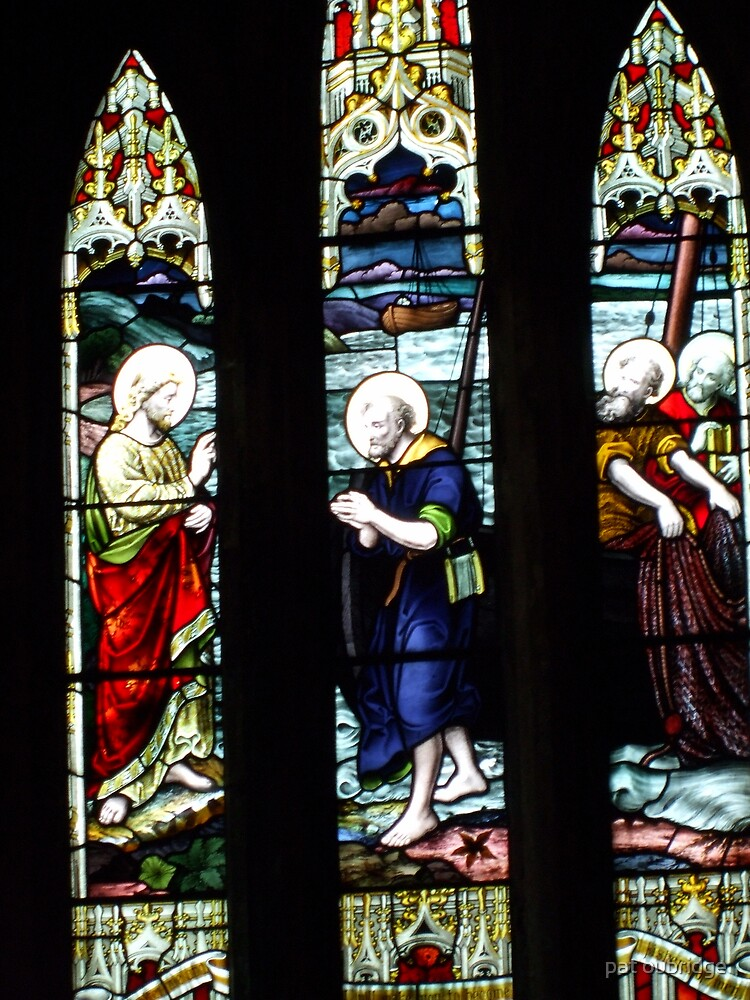 Stained Glass Window by pat oubridge