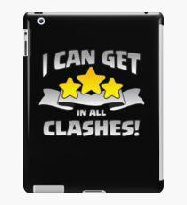 Ich kann 3 Sterne in allen Zusammenstößen Lustiges Geschenk erhalten iPad-Hülle & Klebefolie