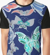 Butterfly Pattern 3 Graphic T-Shirt