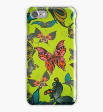 Butterfly Pattern 4 iPhone Case/Skin