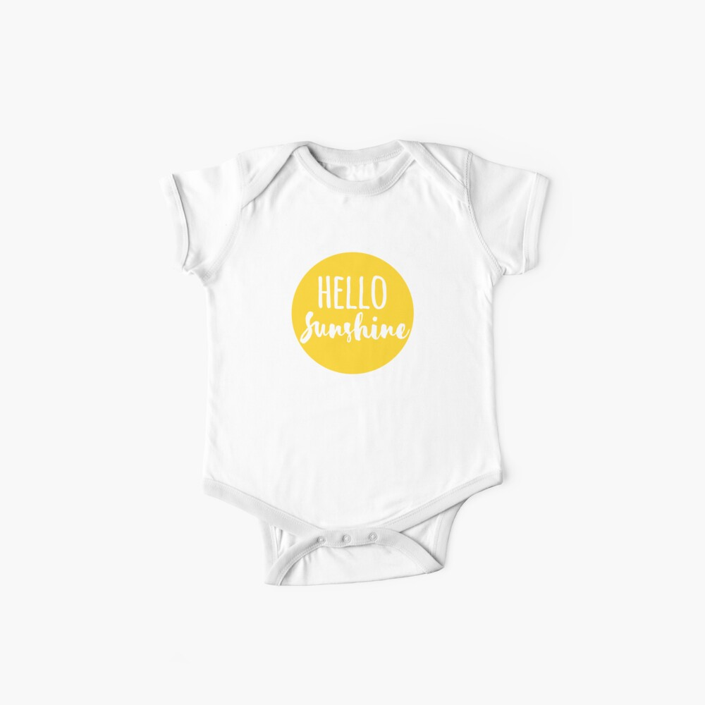 Hola Luz de sol Body para bebé
