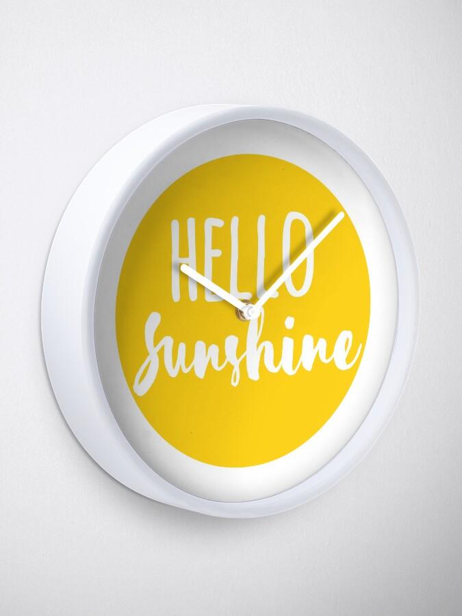 Vista alternativa de Reloj Hola Luz de sol