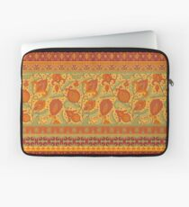 tribal flowers pattern Laptop Sleeve