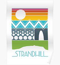 Strandhill Summer Sunset Poster