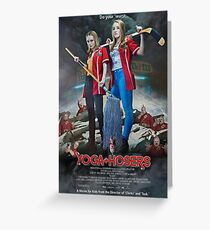 Kevin Smiths Yoga Hosers Greeting Card