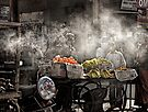 In a Jodhpur Market by Heather Prince