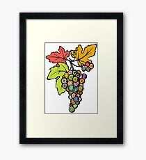 Grapes of Many Colors Framed Print