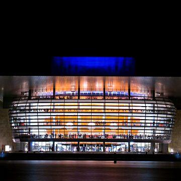 Copenhagen operahouse by fljac