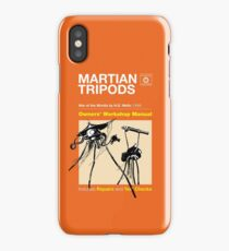 Owners Manual - HG Wells Martian Tripod iPhone Case/Skin