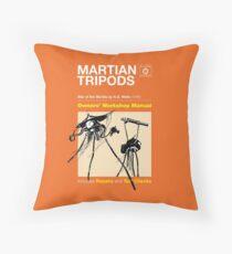 Owners Manual - HG Wells Martian Tripod Throw Pillow