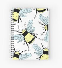 Spring Bees Spiral Notebook