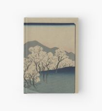 Grove of Cherry Trees - Japanese pre 1915 Woodblock Print Hardcover Journal