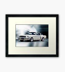 1966 Shelby Mustang GT350 Framed Print