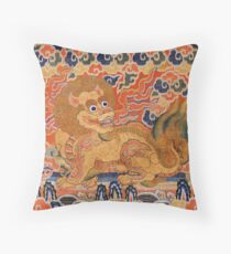 Imperial Lion Throw Pillow