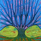Warm Tree by Wojtek Kowalski