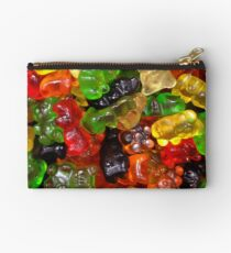 cute colorful sweet candy gummy bear  Studio Pouch
