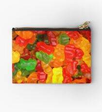 colorful sweet tooth foodie candy gummy bear  Studio Pouch
