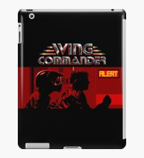 WING COMMANDER - CLASSIC PC GAME iPad Case/Skin