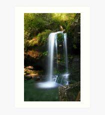 Grotto Falls ~ GSMNP Art Print